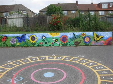 painting school playground 50 best mural images on