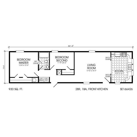 small double wide floor plans single wide trailer house plans single wide mobile homes