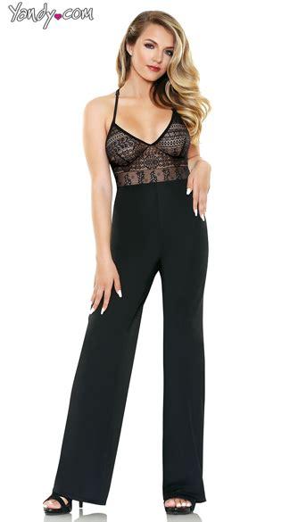 Ll Jamsuit Fantasi geometric jumpsuit black jumpsuit patterned jumpsuit