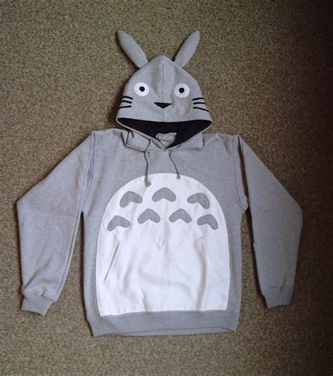 totoro hoodie by challengeaccepted on deviantart