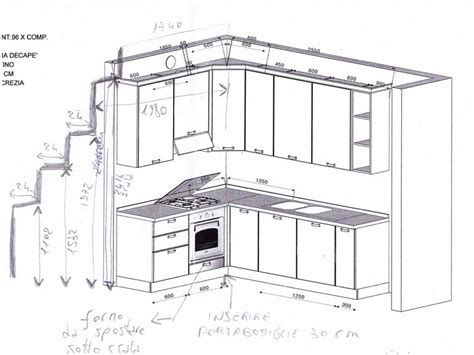 mobili cucina dimensioni cucine componibili 187 cucine componibili dimensioni