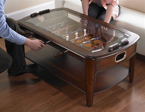 Coffee Table Foosball Chicago Gaming Signature Foosball Coffee Table The Green