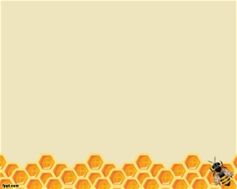 Bee And Honeycomb Powerpoint Template Free Powerpoint Templates Download Singing Bee Powerpoint Template