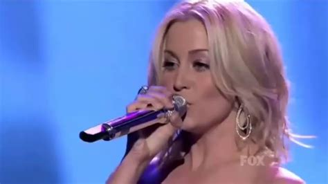 Kellie Pickler Shows Investments On Idol by Kellie Pickler Best Days Of Your American Idol