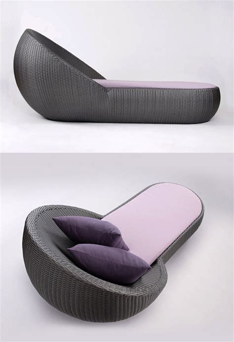 circle chaise lounge circle chaise the geometry of lying in the sun