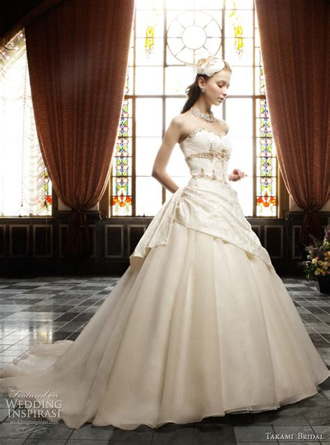 Royal Wedding Dresses by Takami Bridal   Wedding Inspirasi