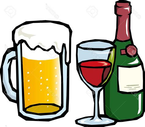 alcoholic drinks clipart hd alcoholic drinks clipart pictures vector library