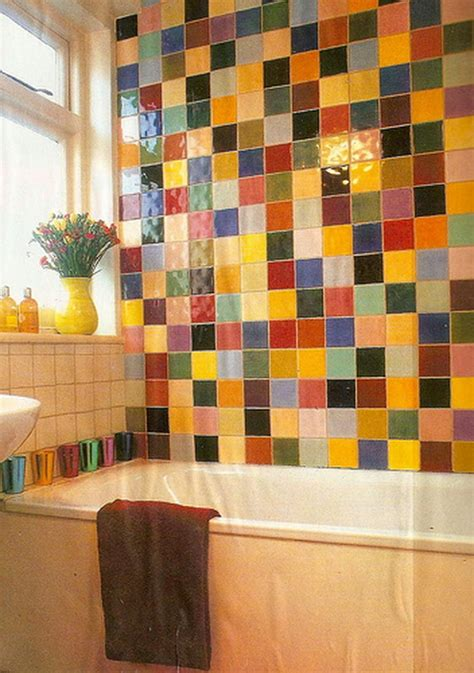 Bright Colored Bathrooms by Colorful Bathroom Designs