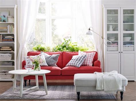 The 25  best Red sofa ideas on Pinterest   Red couch living room, Red couches and Red couch rooms