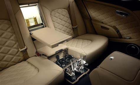bentley mulsanne interior car and driver