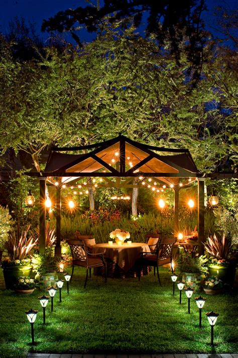 best lights for the backyard sitting area 27 best backyard lighting ideas and designs for 2017
