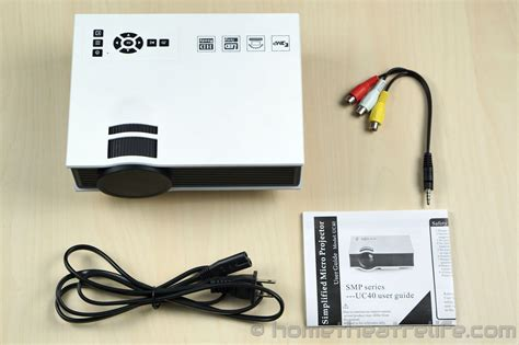 Proyektor Uc40 unic uc40 800lm led multimedia projector review home
