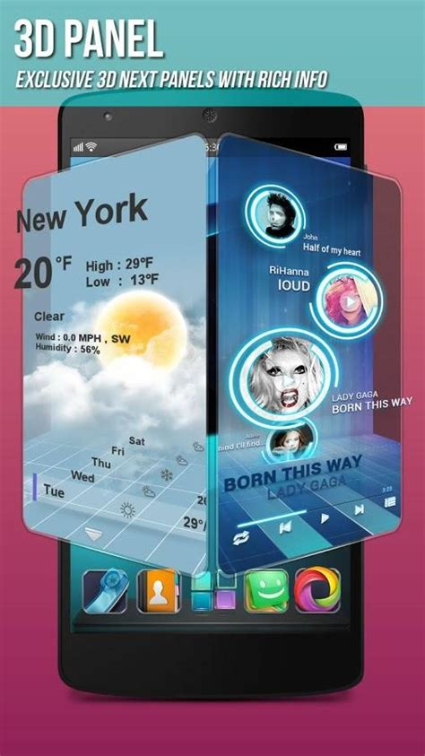 next launcher lite apk full version free download next launcher 3d shell lite 3 7 4 7 apk download android