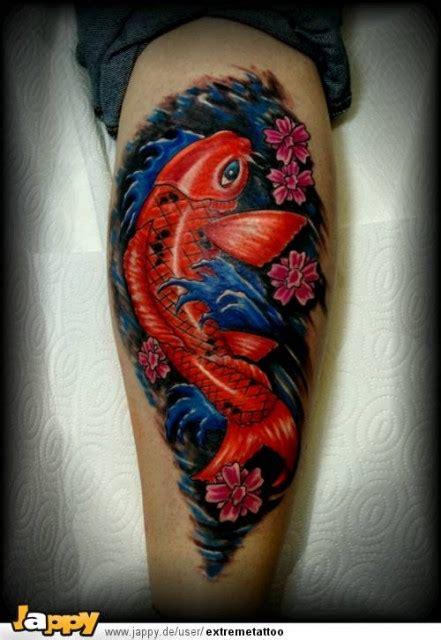 koi karpfen tattoos und koi karpfenbilder