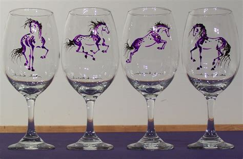 Painted Wine Glasses Www Rozalitka 8 Painted Wine Glasses