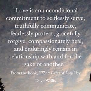Willis Barnes The Seven Laws Of Love Quotes From The Book