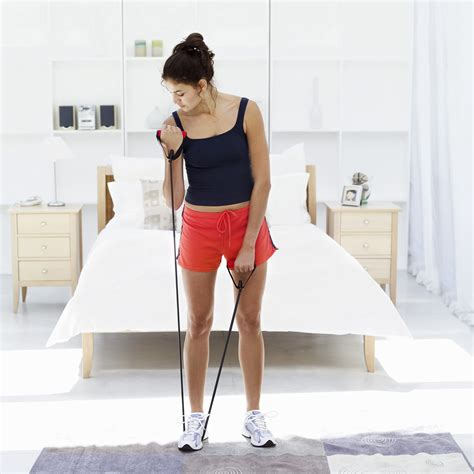 resistance band exercises you can do at home popsugar