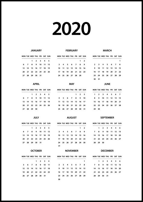 calendar  black bgafi