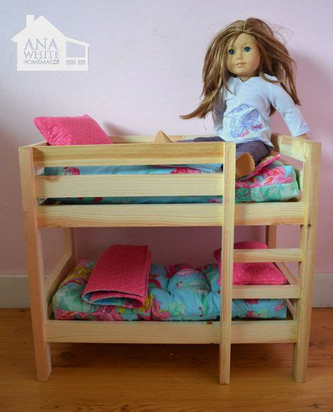 how to make american girl doll bed best 25 girls bunk beds ideas on pinterest bunk beds