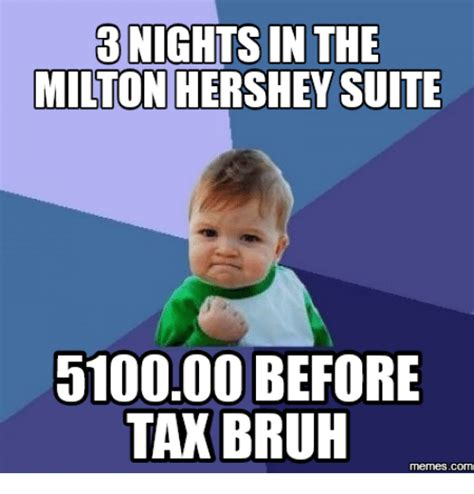 In Meme - 3 nights in the milton hershey suite 510000 before