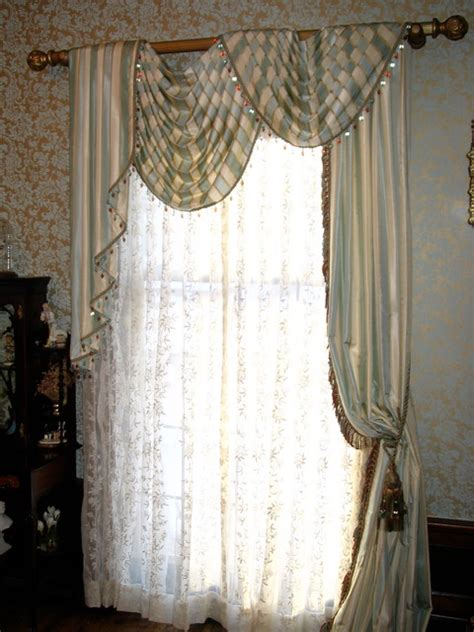 traditional curtains and valances window treatments designed by michael john traditional
