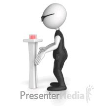 Press Control Button Non Looping Presenter Media Images