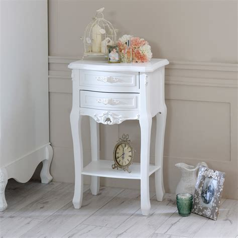 Chic Shelf Paper Discount Code by Range Painted 2 Drawer Bedside Table Melody