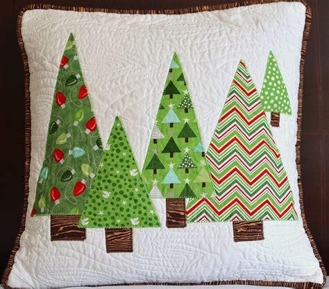 christmas tree cushion pattern cut sew press love christmas sewing