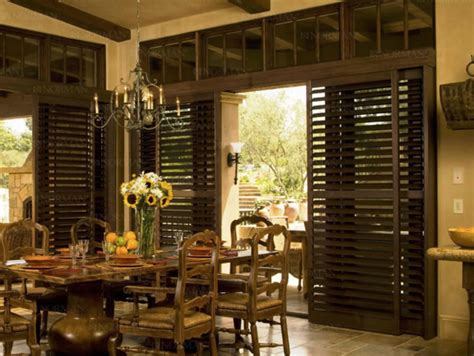 sliding patio door shutters shutters for patio doors drapery connection