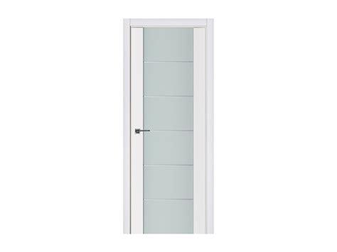 Modern Interior Doors White Triplex 008 White Wood Lacquered Modern Interior Door Interior Doors