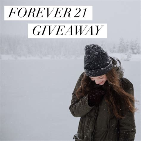 Free Forever 21 Gift Card Code - winter fun clothing forever 21 gift card giveaway craft
