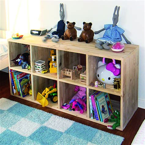 kids bedroom storage home dzine home diy diy storage unit for children s bedroom