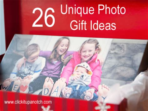 cool photo gifts 26 unique photo gift ideas click it up a notch