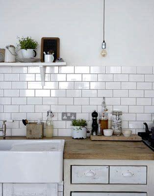White Metro Tiles Kitchen - white metro tiles kitchen home interior pinterest
