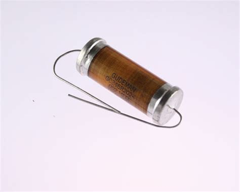 glass capacitor gc246r202k gudeman capacitor 0 002uf 7500v glass axial 2020053064