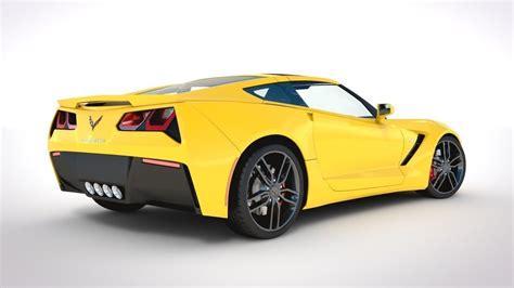 all corvette stingray models corvette c7 stingray 2014 3d model obj 3ds fbx lwo lw