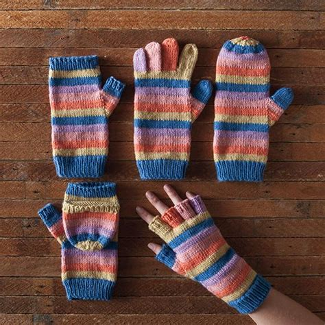 free pattern gloves knitting line by line mittens knitting patterns and crochet