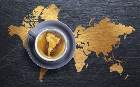 Coffee World map earth world coffee cup espresso wallpaper 1920x1200 43546 wallpaperup