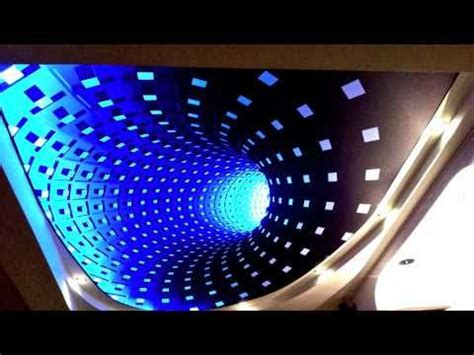 Infinity Mirror Ceiling by New 3d Effect Technology On Stretch Ceiling Clipso With