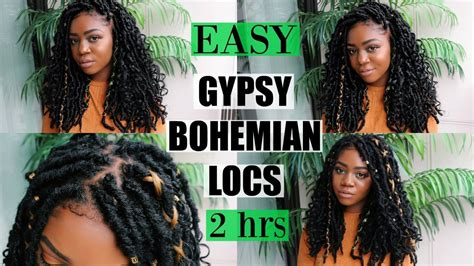 NEW Gypsy Bohemian Locs   Quick & Easy   ONLY 2 HOURS