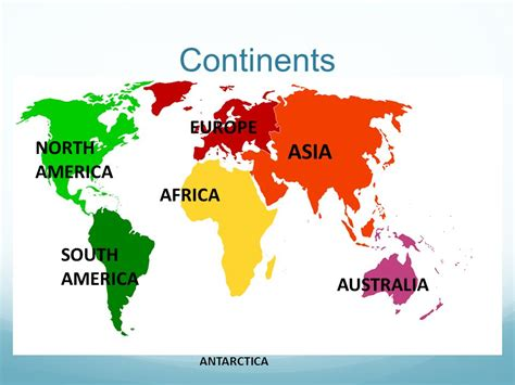 asia and america map geography world ppt