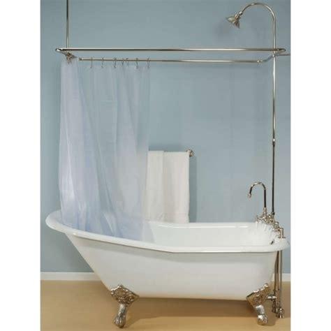 claw bathtub shower kit used clawfoot tub shower kit bathtub designs
