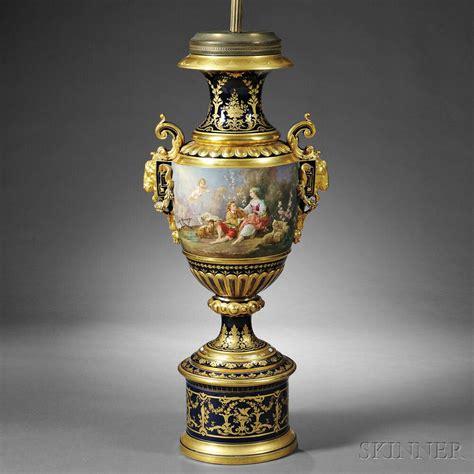 sevres style porcelain floor vase sale number 2776b lot