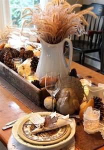 dekoration für den herbst selber machen herbstdeko f 252 r den tisch basteln lowkei herbst
