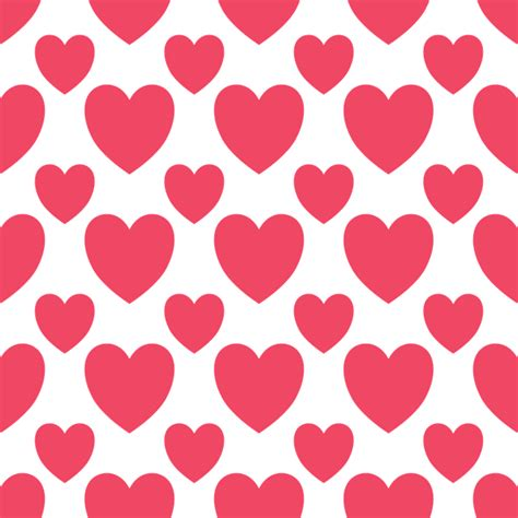 texture heart pattern free vector graphic simple hearts valentin pattern