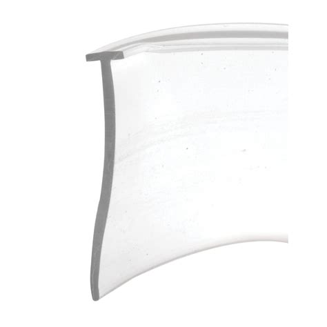 Shower Door Bottom Seal Home Depot Prime Line T Style 36 In Clear Shower Door Bottom Seal M 6211 The Home Depot