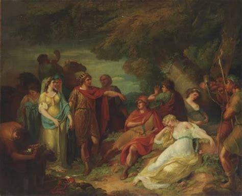 midsummer nights dream a 1906230447 theseus and hippolyta find the lovers from a midsummer nights dream by francis wheatley on artnet