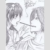 Kissing Couple Sketch   900 x 1177 jpeg 253kB