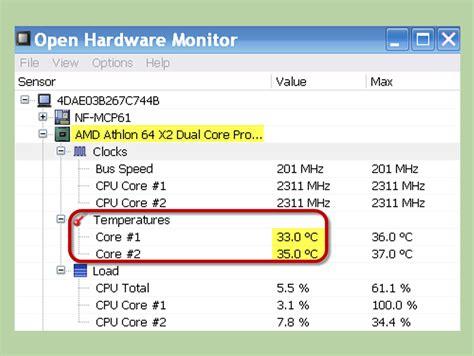 cpu fan temp monitor cpu temperature monitor windows 10