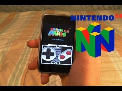 how to install nintendo 64 emulator on iphone ipod touch with roms n64iphone
